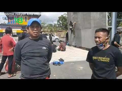 Atlet Panjat Tanah Bumbu Rutin Berlatih