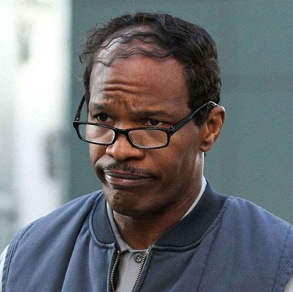 Jamie Foxx as Maxwell Dillon (a.k.a. Electro) in THE AMAZING SPIDER-MAN 2.