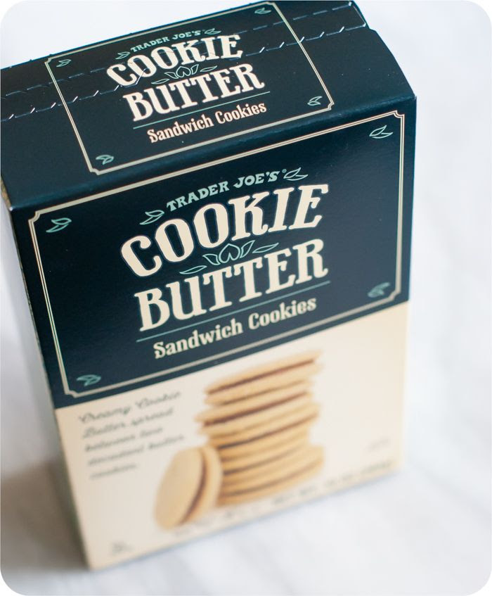 trader joe's cookie butter sandwich cookies review