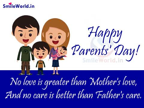Mother And Father Quotes On Parents Day Image For Facebook