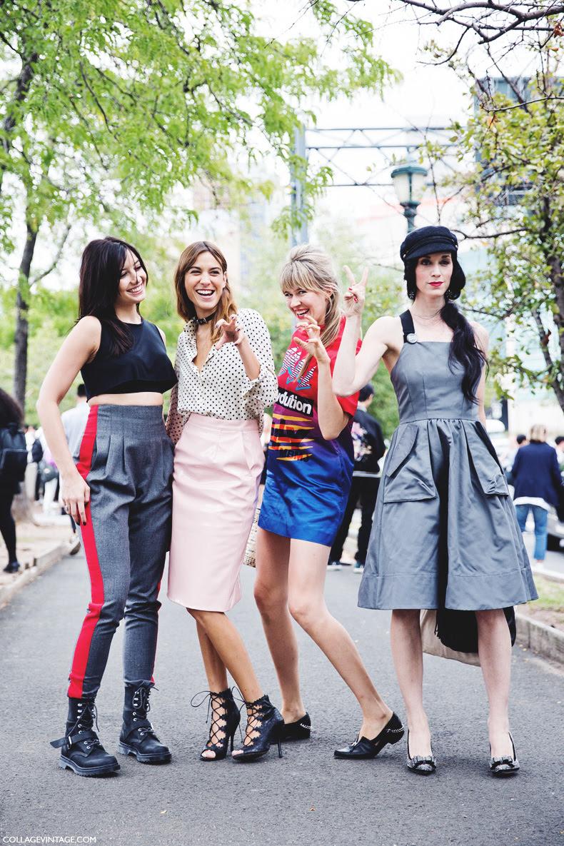 New_York_Fashion_Week_Spring_Summer_15-NYFW-Street_Style-Alexa_Chung-Marc_By_Marc_Jacobs-Pink_Skirt-Dots_Shirt-15