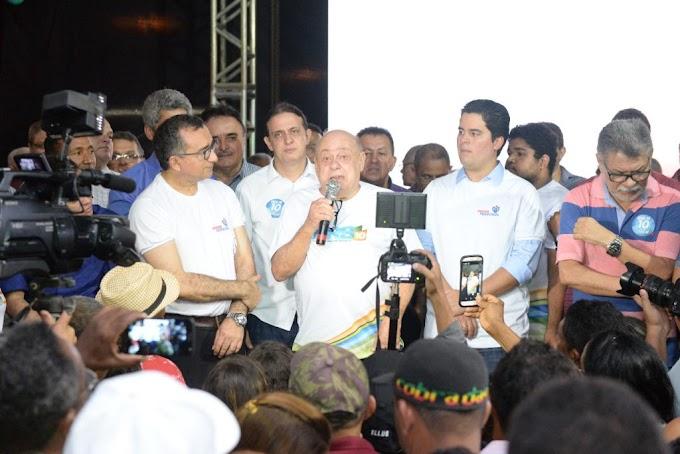 POLÍTICA - Zé Gentil e Paulo Marinho Jr. reúnem multidão em ato de filiação, em Caxias