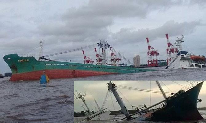 General Cargo Ship Sank In Indonesian Waters Update Maritime Bulletin