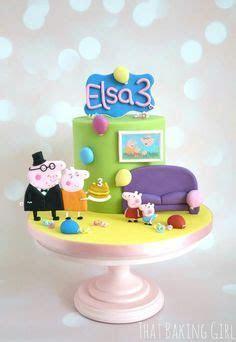370 best Peppa Pig Cakes images on Pinterest   Birthdays