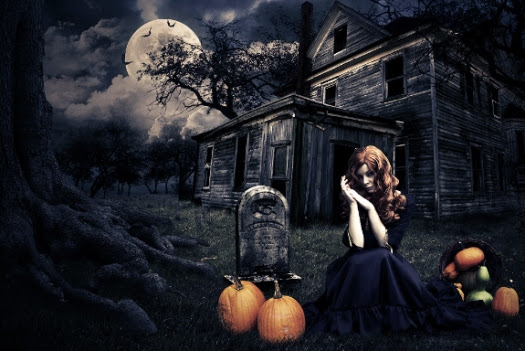 Dark Halloween Manipulation Tutorial