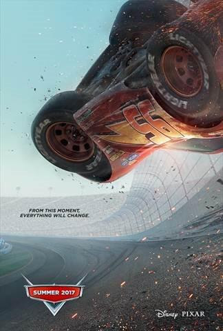 """The 2017 Schedule from Walt Disney Studios Motion Pictures, Cars 3"""