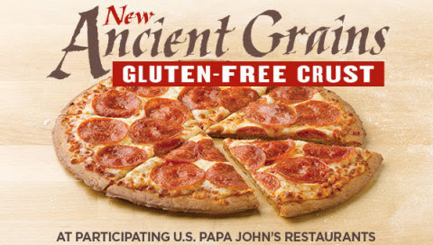 Gluten-Free Crust Now Available at Papa John's Nationwide ...