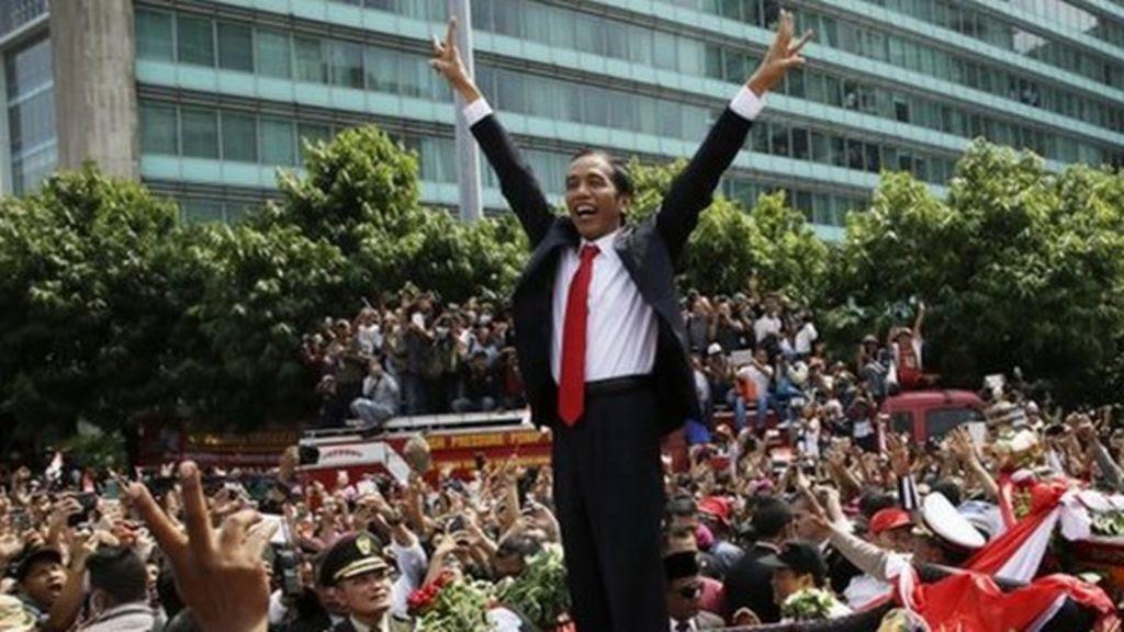 Joko Widodo sworn in as Indonesian president  BBC News