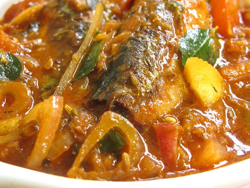 Canned Sardine fish curry