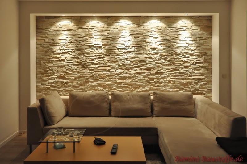 wohnzimmer wand steinoptik ~ surfinser.com - Wohnzimmer Ideen Wandgestaltung Stein