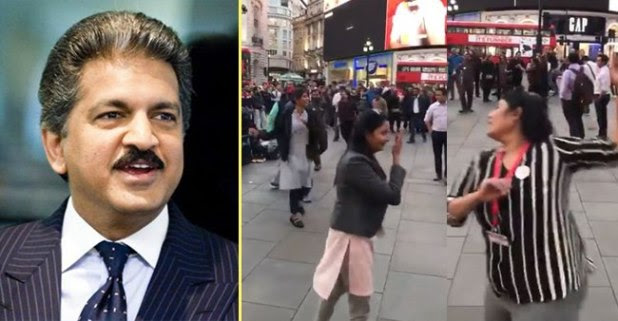 Anand Mahindra Shares A Video Showing People Playing Garba In London After Narendra Modi's Win