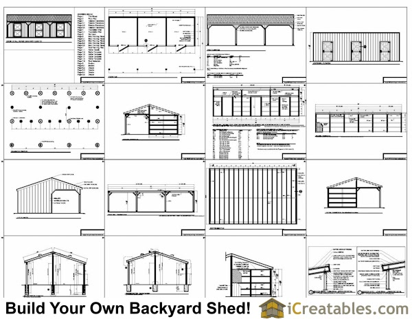 Sheds plans online guide how to build a 10x10 shed roof for Design your own pole barn online