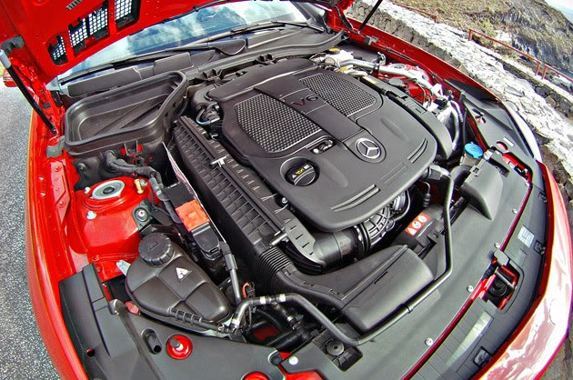 2012 Mercedes-Benz SLK engine