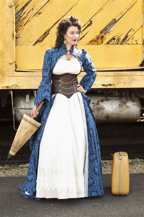 Adrianna's incredible steampunk wedding dress   Offbeat Bride