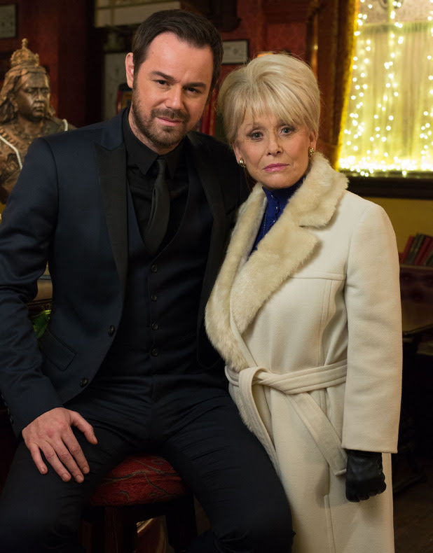 Danny Dyer and Barbara Windsor in The Vic