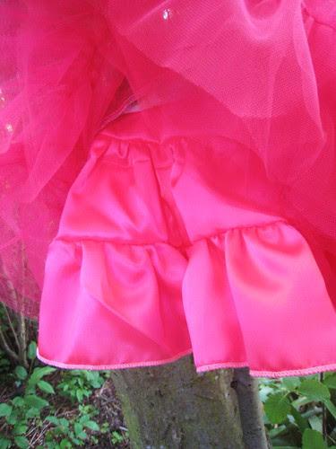 satin lining skirt