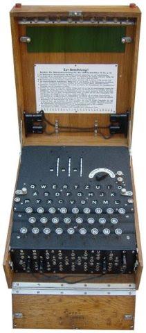 Criptografía: La maquina Enigma y la Segunda Guerra Mundial
