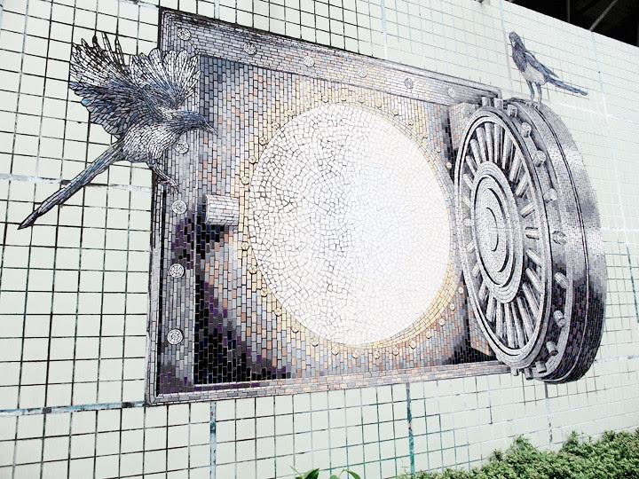 3d wall art taipei