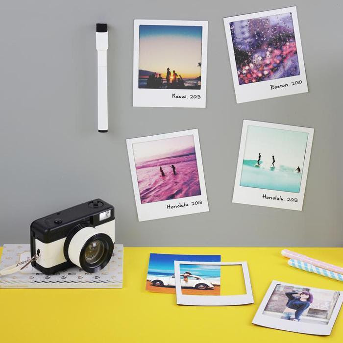 Polaframe Multi Coloured Fridge Magnet Photo Frames Family Fun