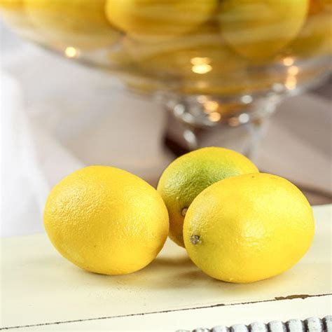 Artificial Lemons   Vase and Bowl Fillers   Home Decor