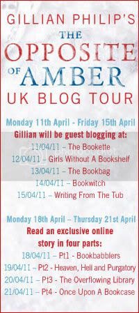 the opposite of amber by gillian philip blog tour