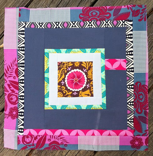 Sew Beautiful February block for Emily!