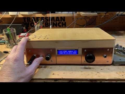Hi-Per-Mite Active Audio CW Filter Installed in uBITX (video)