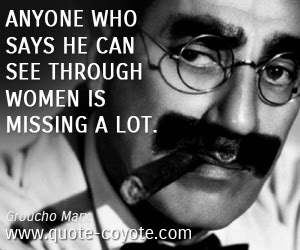 Groucho Marx Quotes Quote Coyote