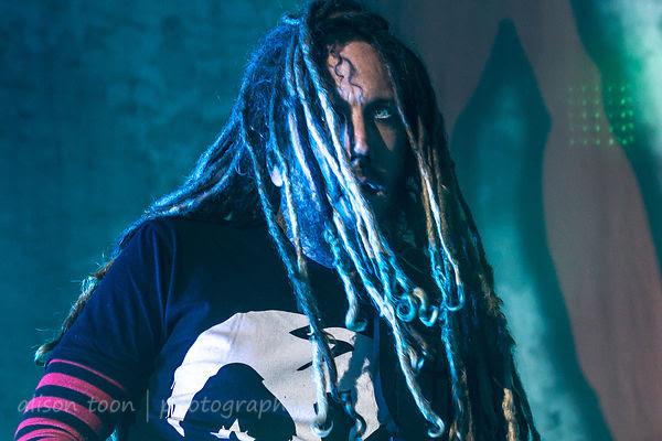 Brian Head Welch, guitar, Korn