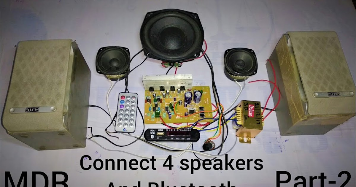 Home Theater Subwoofer Wiring Kit