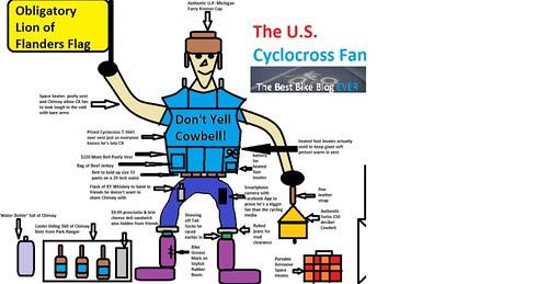 Cyclocross Fan crop