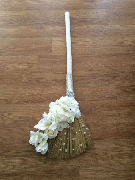 DIY wedding broom   Deb's DIY creations   Wedding broom