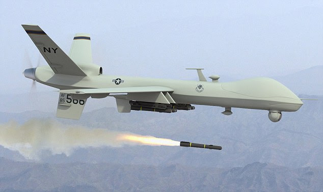 Long-distance killer: More and more drone missile attacks are being sanctioned by President Barack Obama