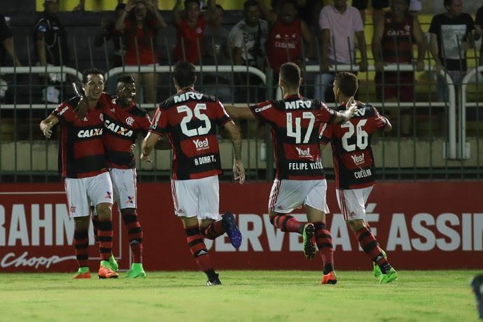 flamengo leandro damião gol (Foto: Gilvan de Souza / Flamengo)