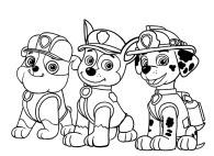 Paw Patrol Coloring Page