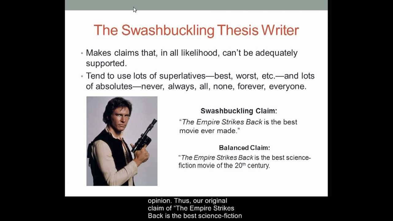 Thesis Statements – The Writing Center • University of North Carolina at Chapel Hill