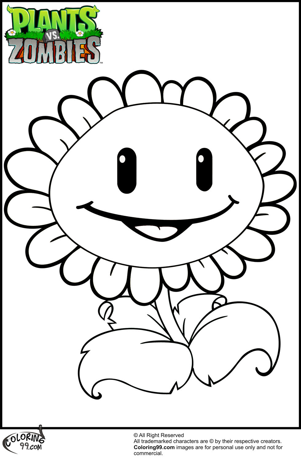 Best Of Plants Vs Zombies Coloring Pages To Print Anyoneforanyateam