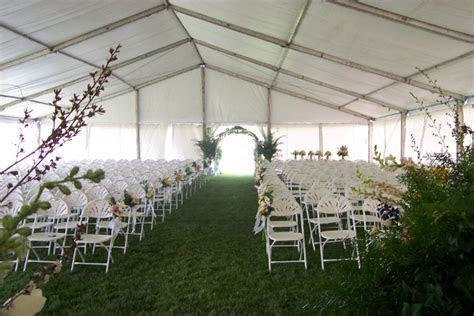Lincoln Tent Wedding Tent Rental Information