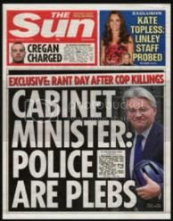 how The Sun reported 'plebgate'