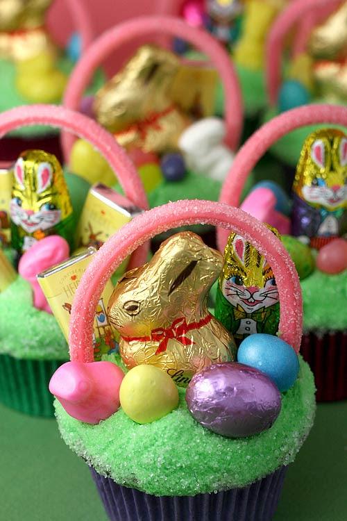 Easter Basket Cupcakes Bakerellacom