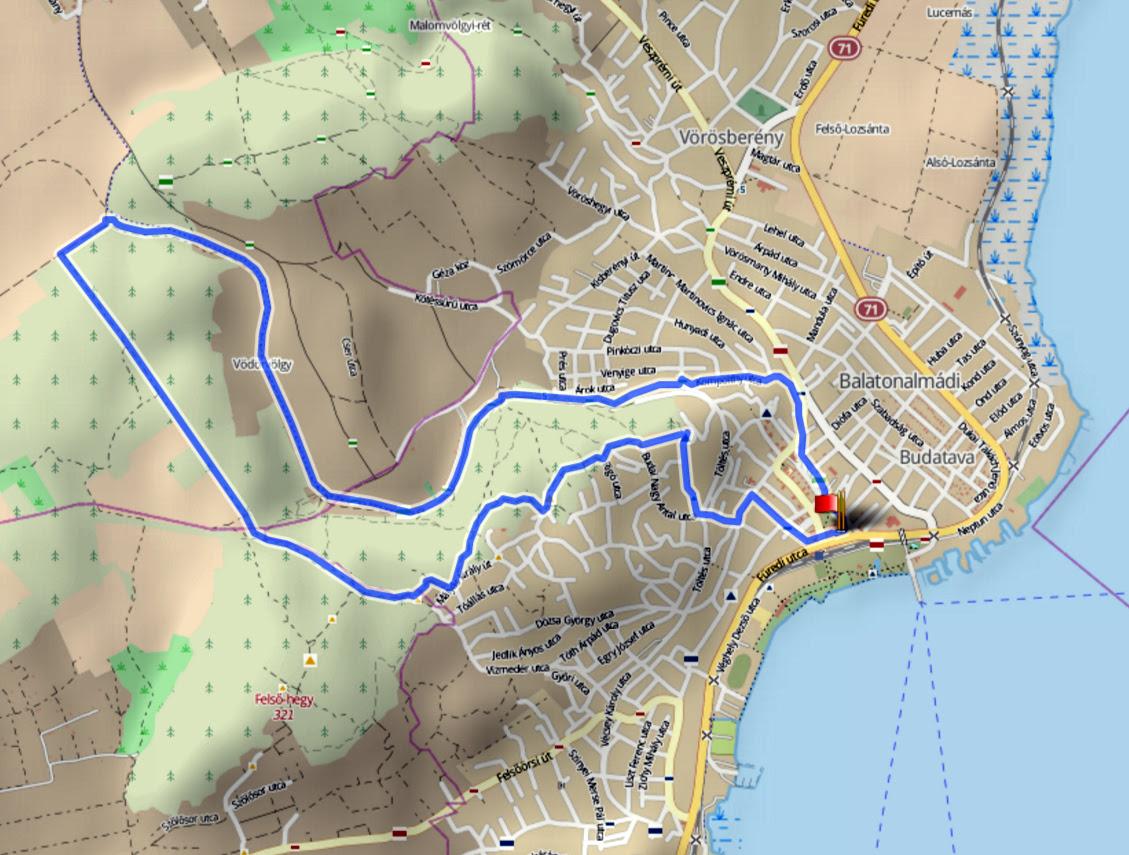balatonalmádi térkép Térkép Balatonalmádi | Térkép