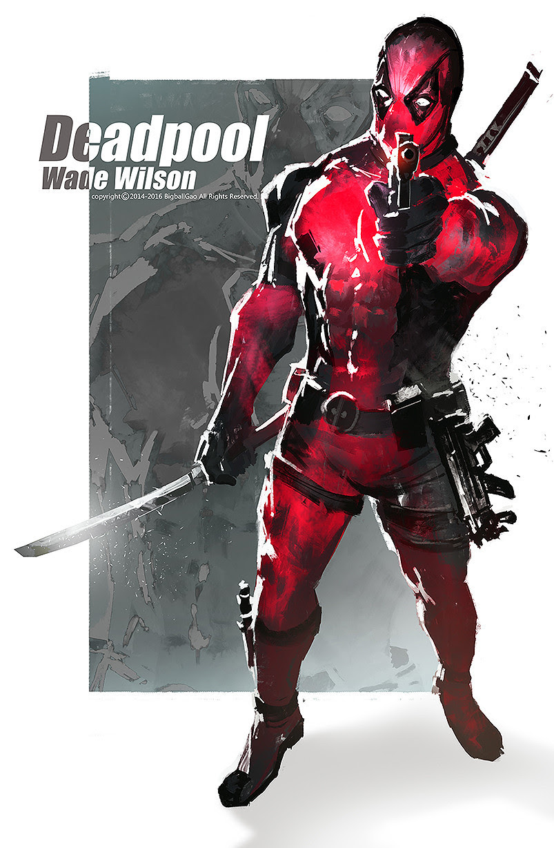 Deadpool by Gao ZhiPing
