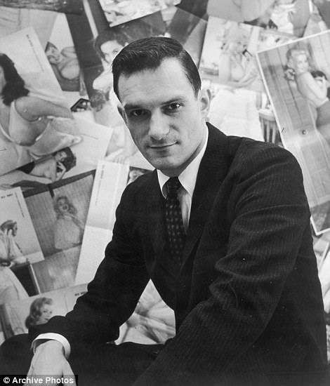 Hugh Hefner in 1953, the year of the first Playboy