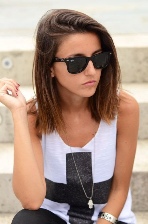 Below Shoulder Length Hairstyles Tumblr Hairstyle