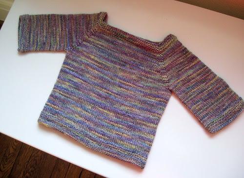 sock yarn sweater 3