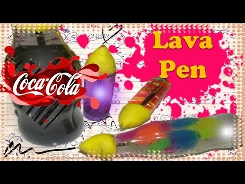 how to make lava lamp pens