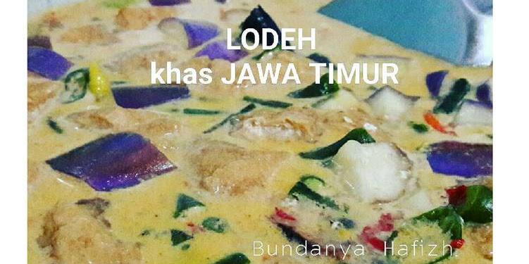 Resep LODEH Khas JAWA TIMUR Oleh Galuh Ajeng Anggraeni