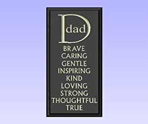 Amazon.com: Decorative Wood Sign Plaque Wall Decor with Quote