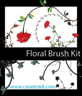 Floral Brush Kit
