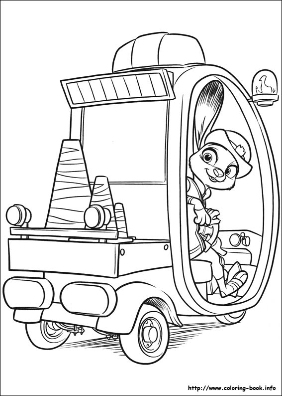9100 Coloring Pages Zootopia , Free HD Download